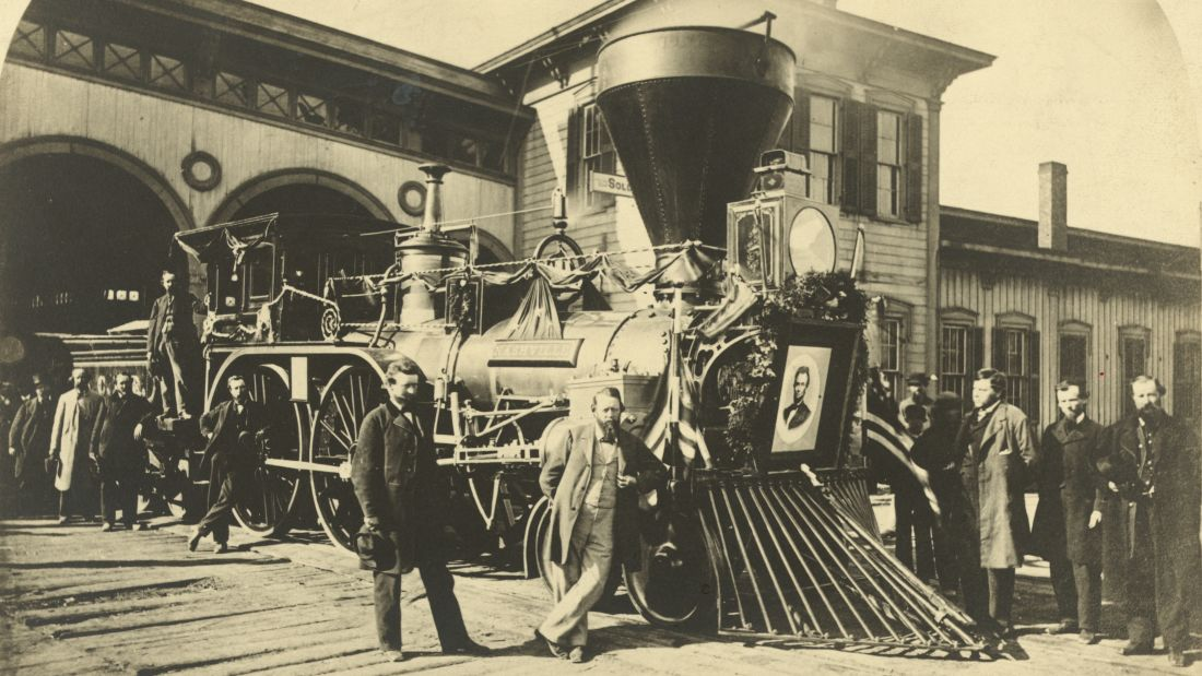 Funeral Train of President Abraham Lincoln