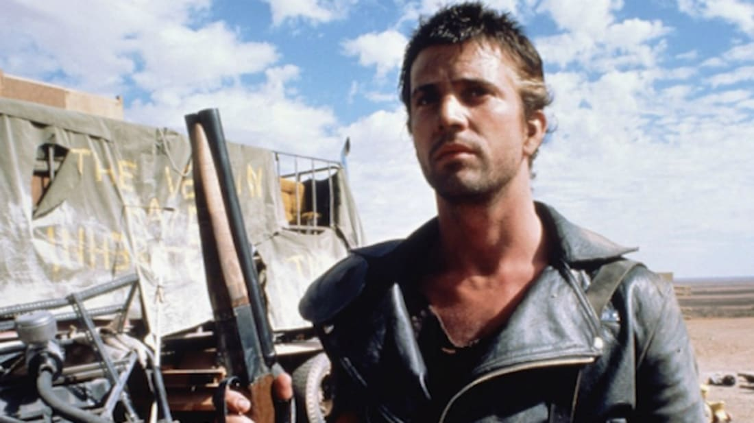 Mel Gibson stars in George Miller's Mad Max (1979).