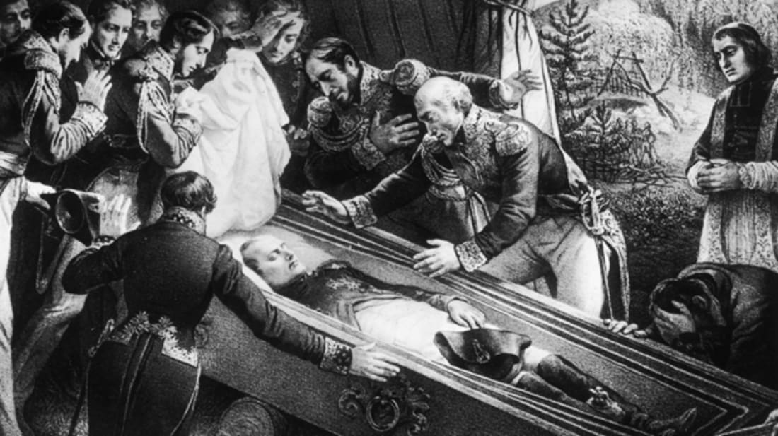 Napoleon I dies, via Getty Images