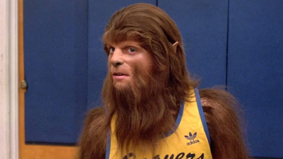 Michael J. Fox stars in Teen Wolf (1985).