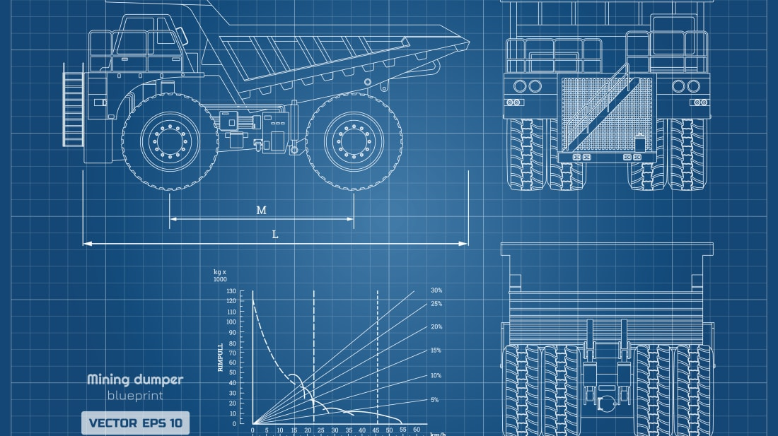 Why Are Blueprints Blue? | Mental Floss