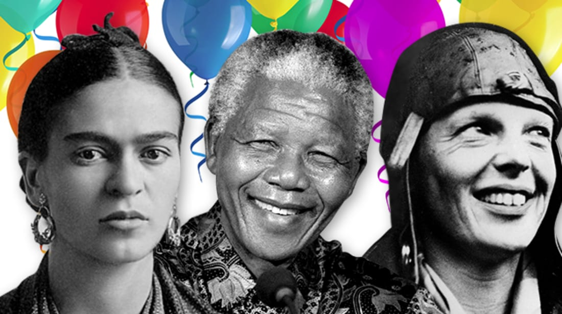 15 Famous Birthdays to Celebrate in July | Mental Floss