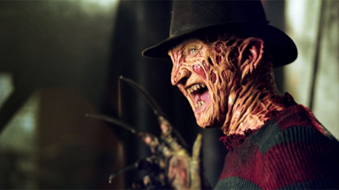 Robert Englund as A Nightmare on Elm Street's Freddy Krueger.