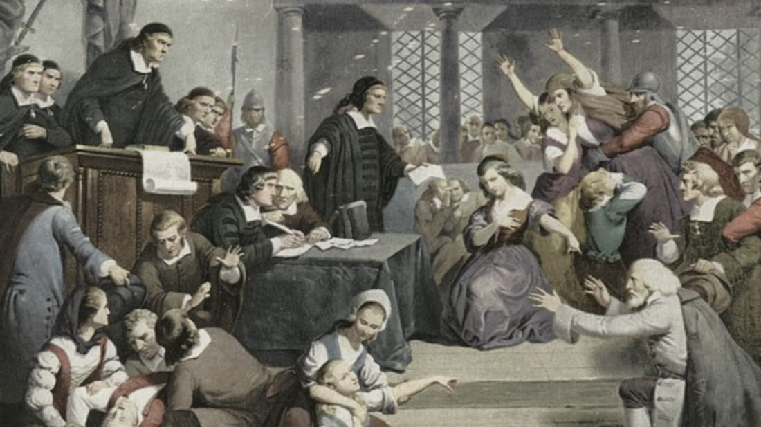 A Brief History of Witches in America | Mental Floss