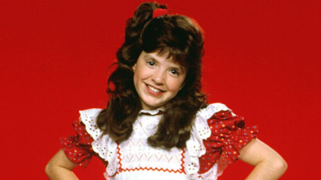 Tiffany Brissette stars as Vicki the Robot in Small Wonder.