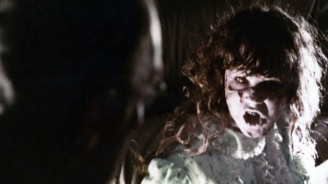 Linda Blair stars in The Exorcist (1973).