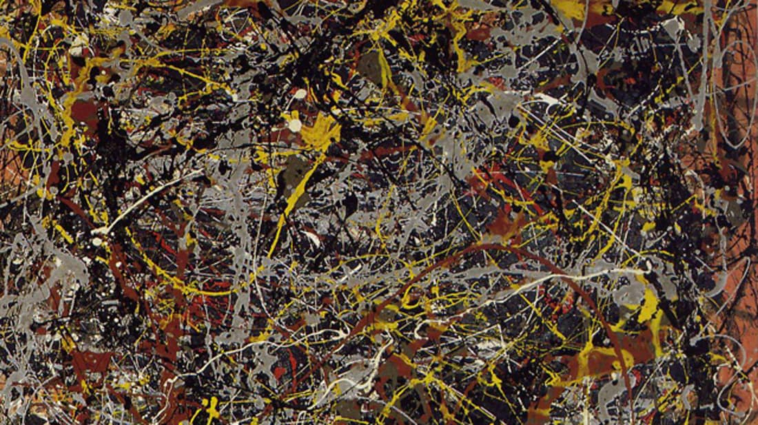 10 Abstract Facts About Jackson Pollock's No. 5, 1948 | Mental Floss