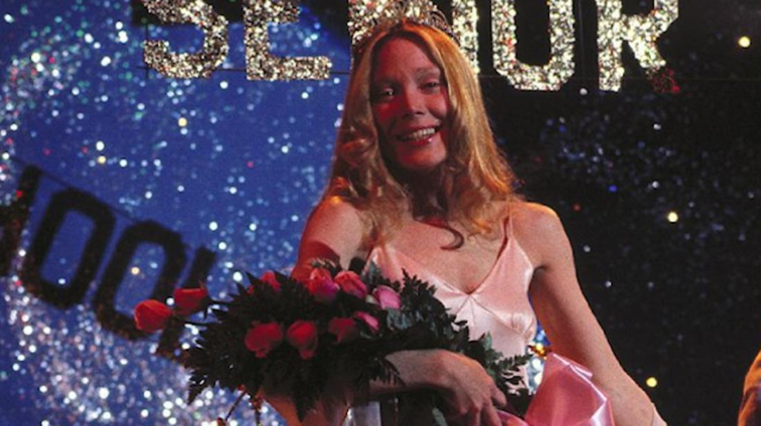 Sissy Spacek stars in Carrie (1976).