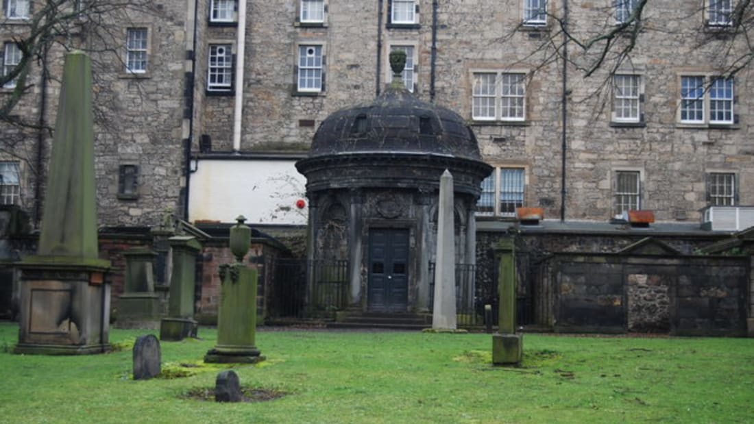 Ghostly legends surround the mausoleum of George Mackenzie.