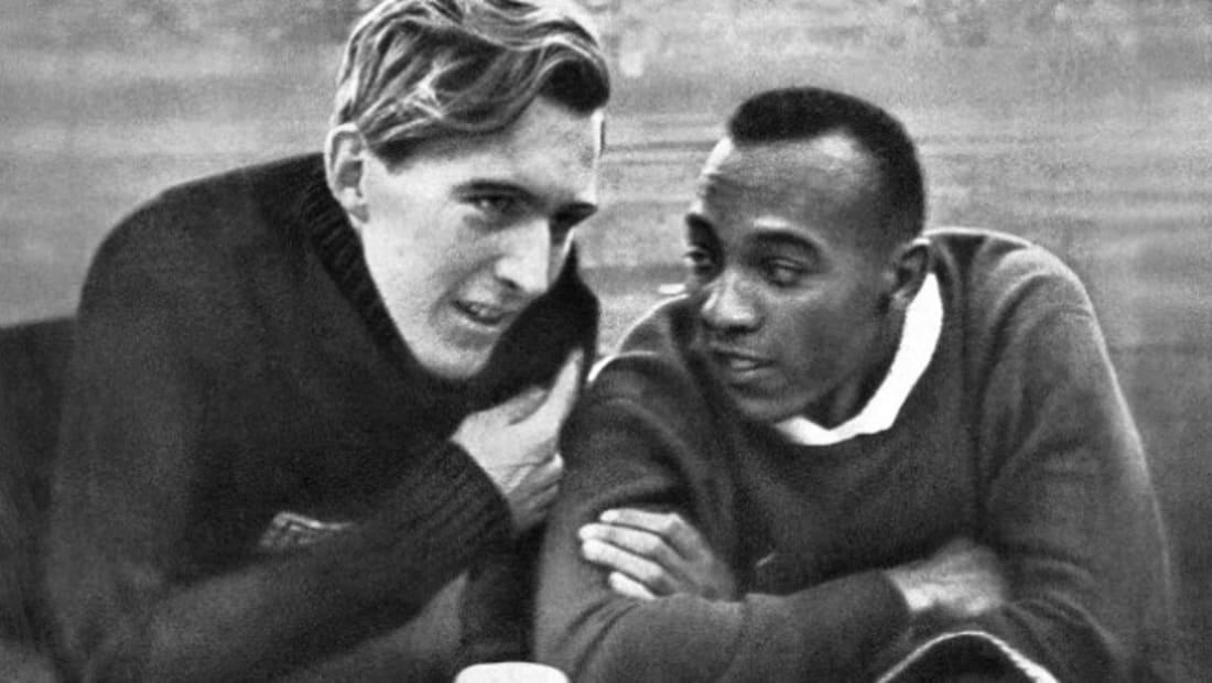 Luz Long and Jesse Owens.