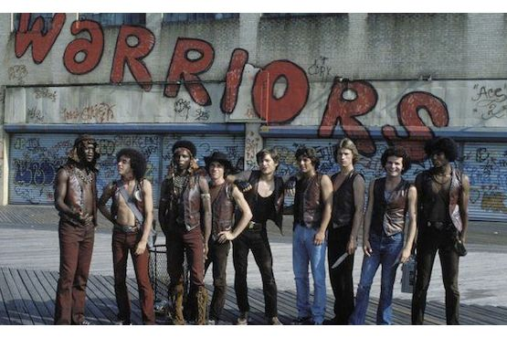 Warriors Subway Map.21 Street Gangs Featured In The Warriors Mental Floss