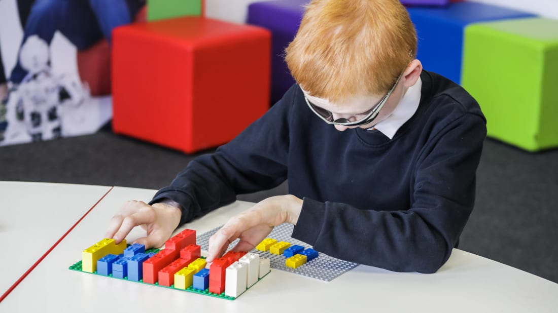 How LEGOs Are Helping Kids Learn Braille