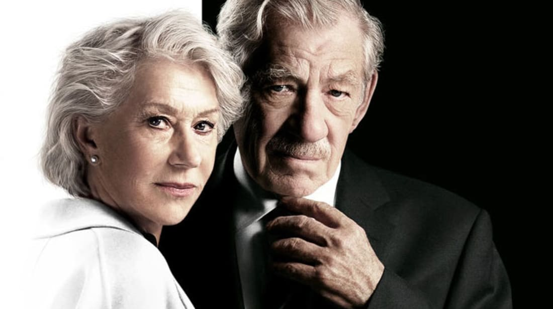 Helen Mirren and Ian McKellen star in The Good Liar (2019).