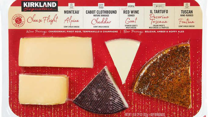 Costco Is Now Selling a $20 Cheese Flight