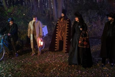 The vampires of What We Do in the Shadows are more likely to be found in Pennsylvania than Transylvania—but you never know.