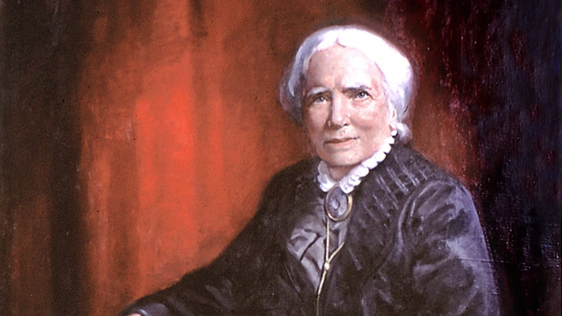 1905 portrait of Elizabeth Blackwell.