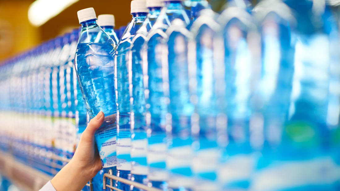 Arsenic water bottles recall launched by manufacturer