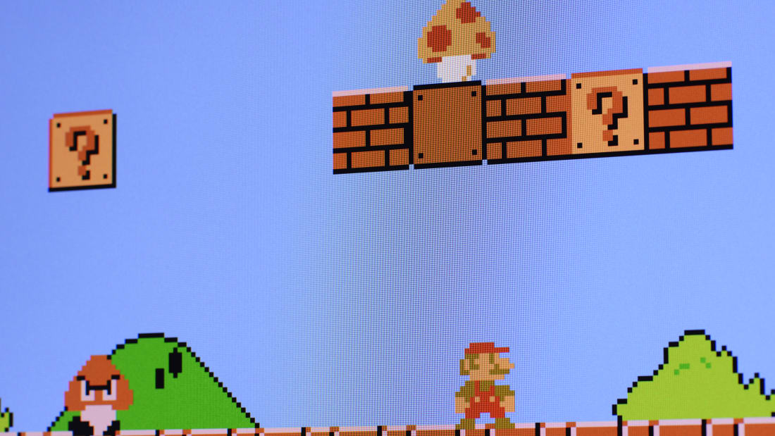 The Super Mario Bros  Theme Song Has Lyrics You've Probably