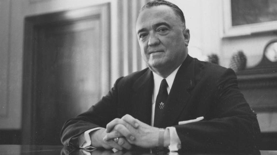 John Edgar Hoover, the longtime director of the Federal Bureau of Investigation.