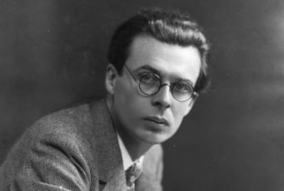 Aldous Huxley taught another famous novelist whose works had a dystopian bent.