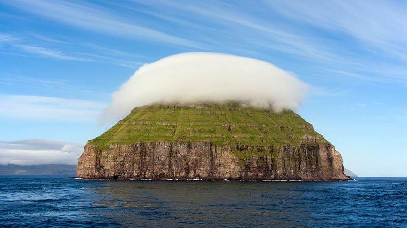 Lítla Dímun: The Smallest of the Faroe Islands Has Its Very Own Cloud