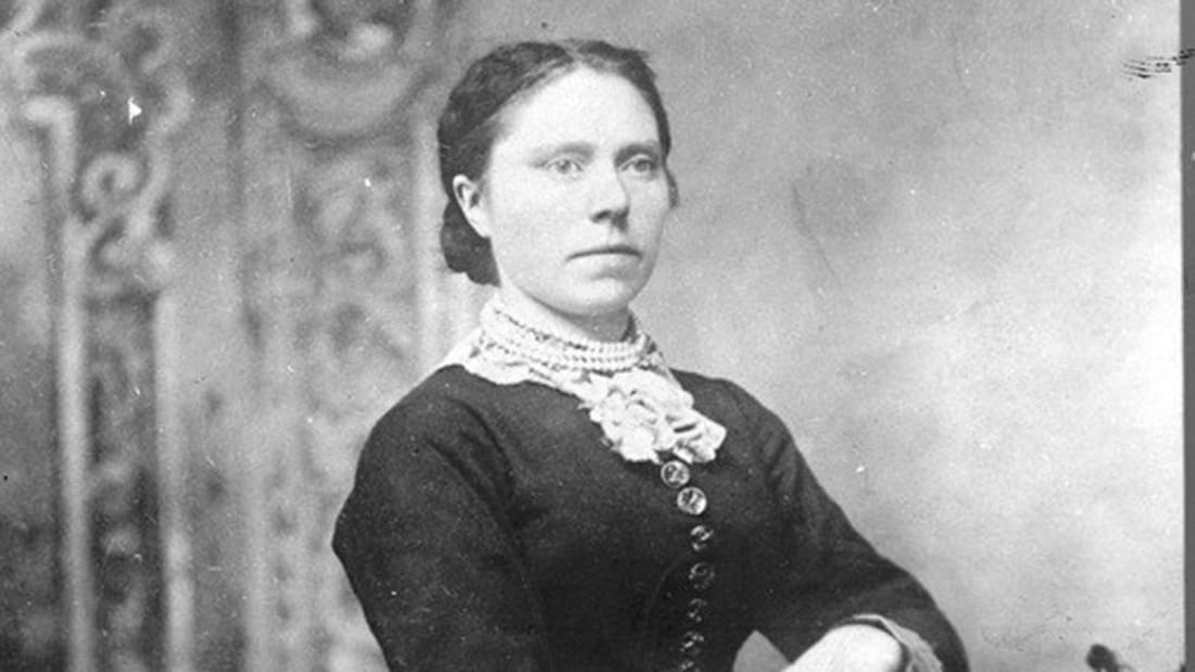 Belle Gunness as a young woman