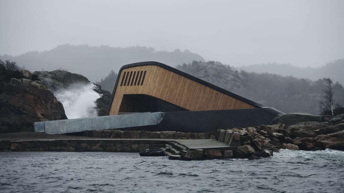 The World's Largest Underwater Restaurant Just Opened in Norway—Take a Peek Inside