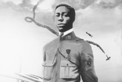Eugene Bullard made aviation history.
