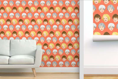 Chica and Jo, Spoonflower