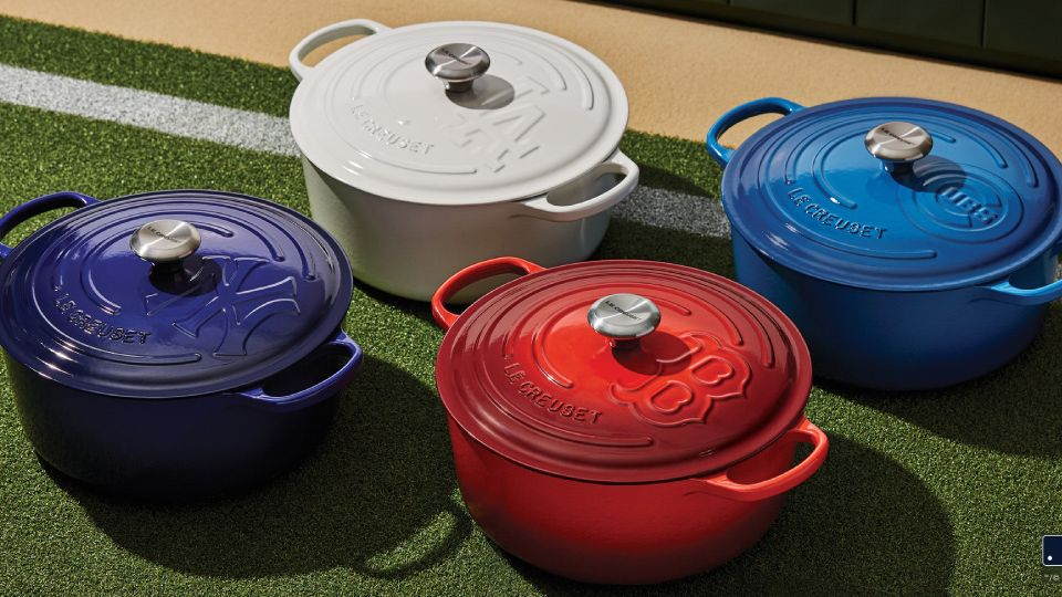 Le Creuset Hits A Home Run With Its Latest Collaboration With Major League Baseball™
