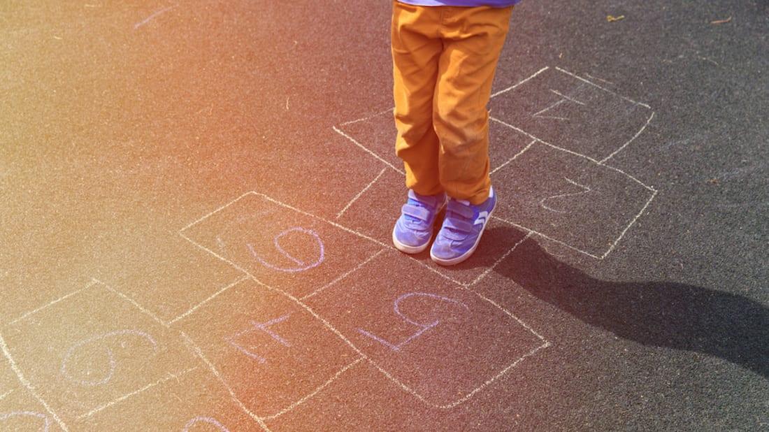 Playground Drawing Children