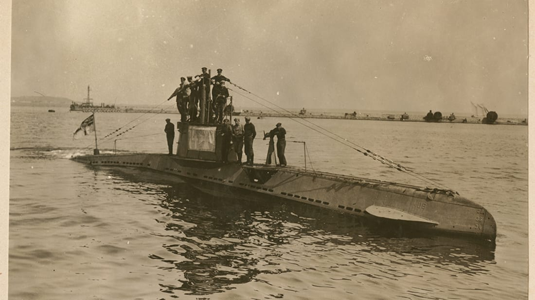 Found: A Sunken German World War I-Era Submarine | Mental Floss