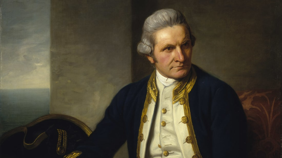 James Cook's journeys took him to New Zealand, Australia, and Hawaii.