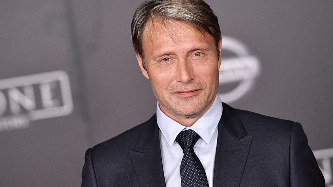 Mads Mikkelsen attends the premiere of Rogue One: A Star Wars Story at Hollywood's Pantages Theatre on December 10, 2016.