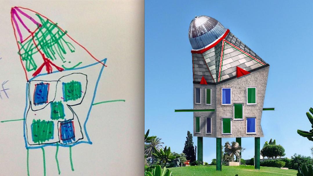 Futuristic Kid Concept Art Sketches