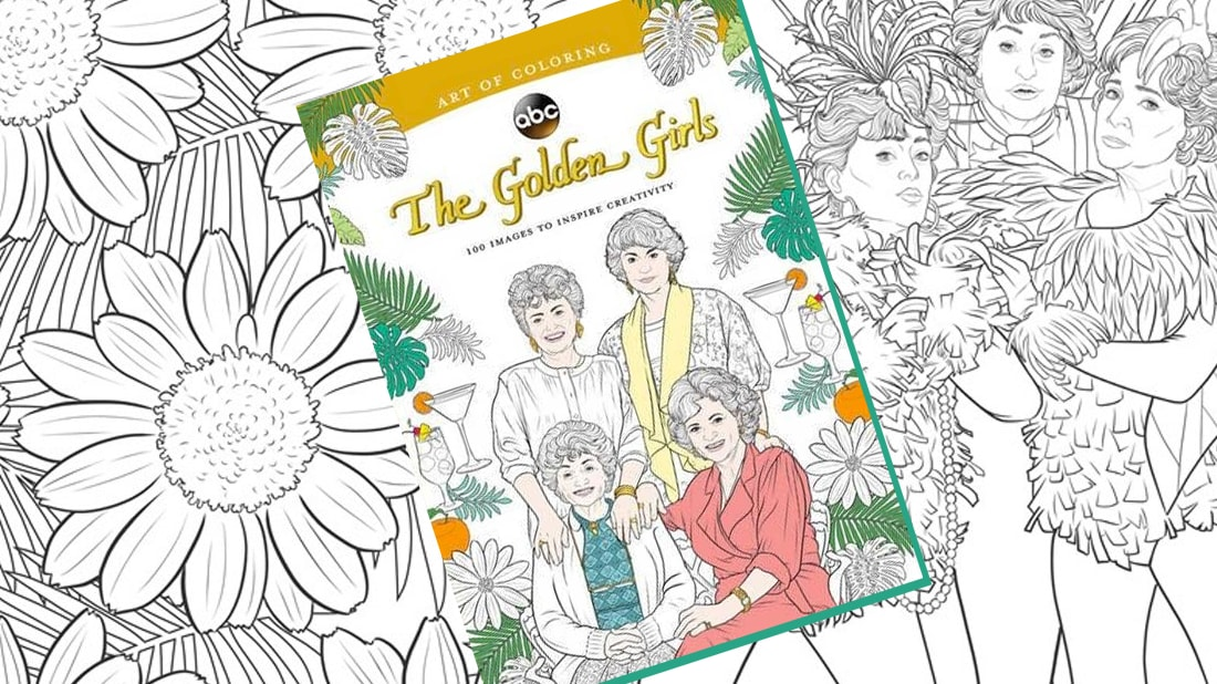 The Golden Girls,\' Now in Coloring Book Form | Mental Floss