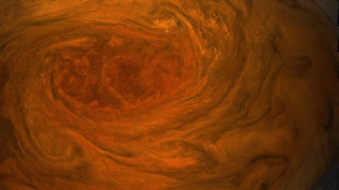 Here's the Closest View of Jupiter's Great Red Spot That Humans Have Ever Seen - Mental Floss