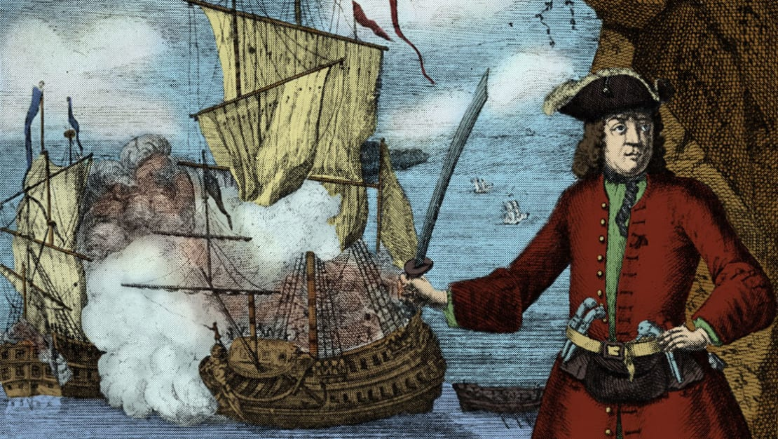 Henry Every pulled off one of history's biggest pirate heists.