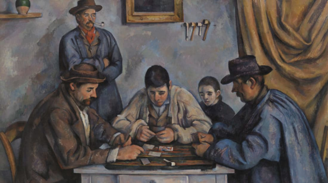 Paul Cézanne. The Card Players (Les Joueurs de cartes), 1890–1892