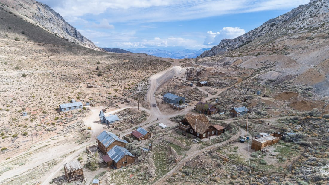 A Historic Ghost Town in California Is Up for Sale | Mental Floss on old mine maps, gold mine maps, ohio underground mine maps, coal mine maps,