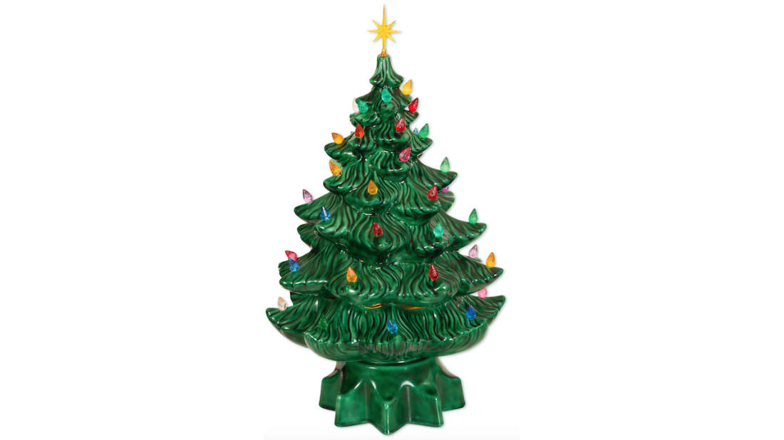 Ceramic Christmas Tree With Lights.Those Old Ceramic Christmas Trees In Your Attic Are Worth