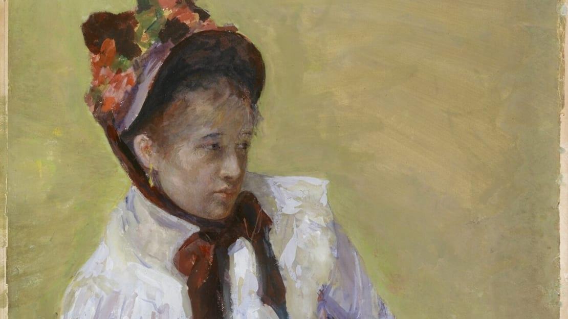 Mary Cassatt, Portrait of the Artist