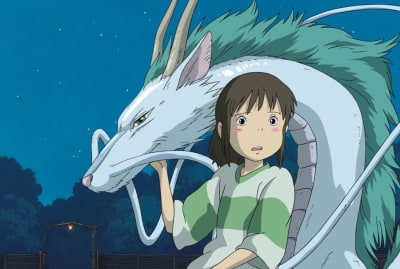 A scene from 2001's Spirited Away.