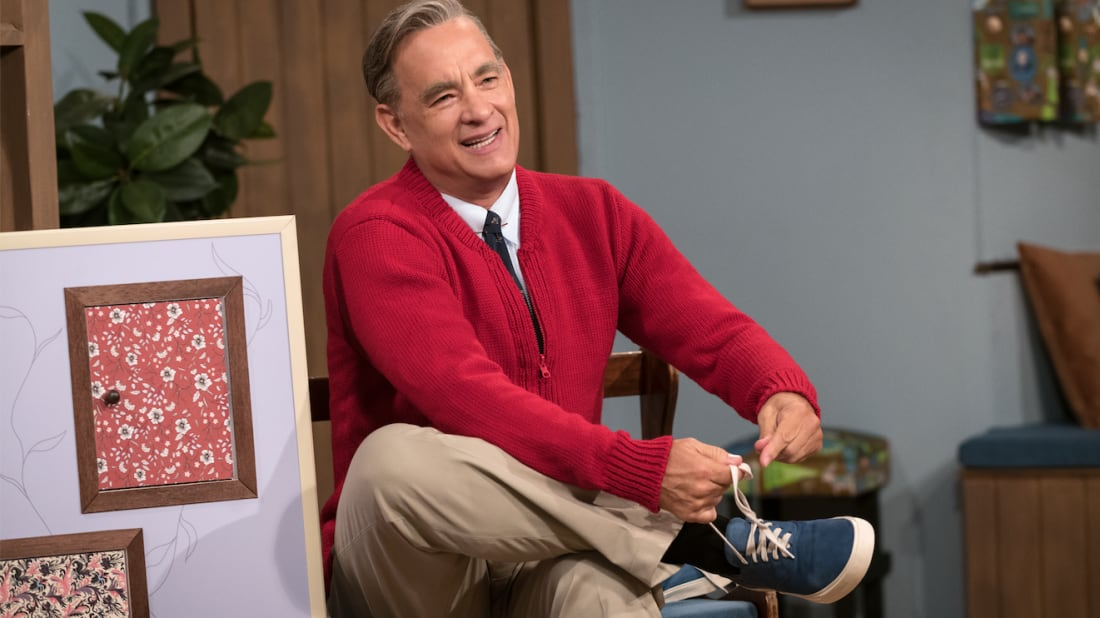 Tom Hanks Wears Fred Rogers S Clothes In A Beautiful Day In The Neighborhood Mental Floss