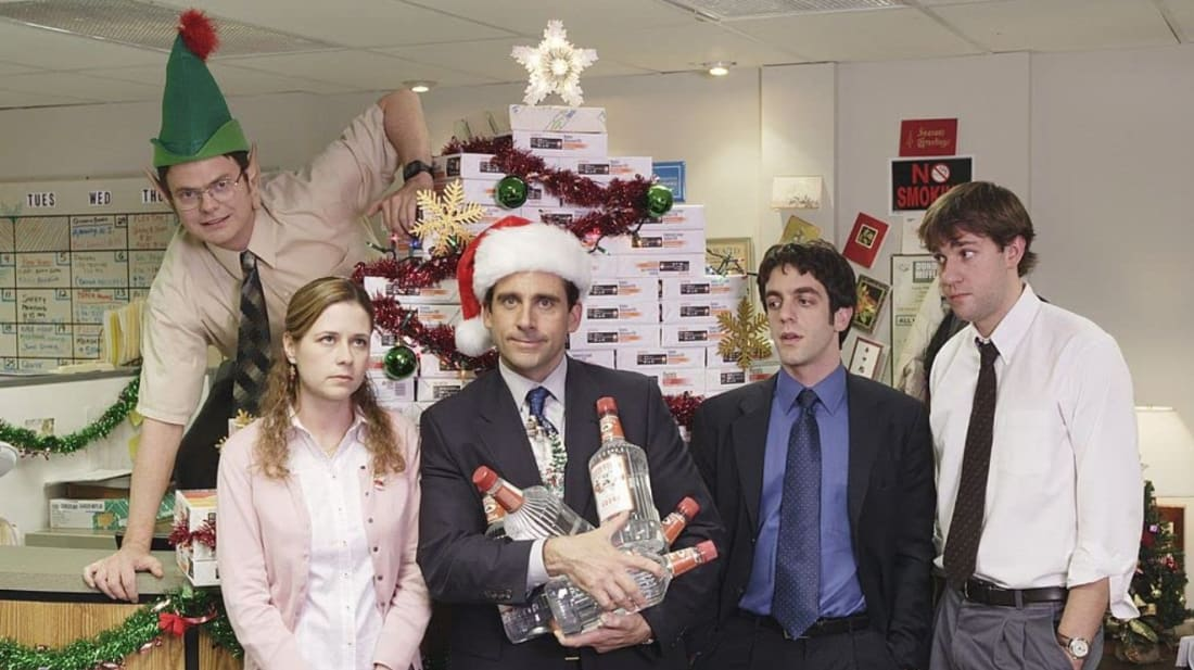 Celebrate the holiday season—Dunder Mifflin-style.