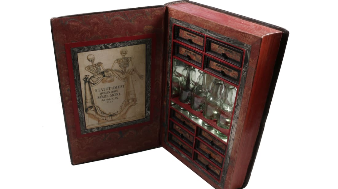 A 17th-Century Book With a Hidden Compartment for Poison Is
