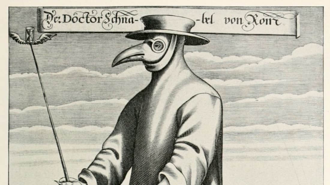 Doctors Didn't Actually Wear Beaked Masks During the Black Plague