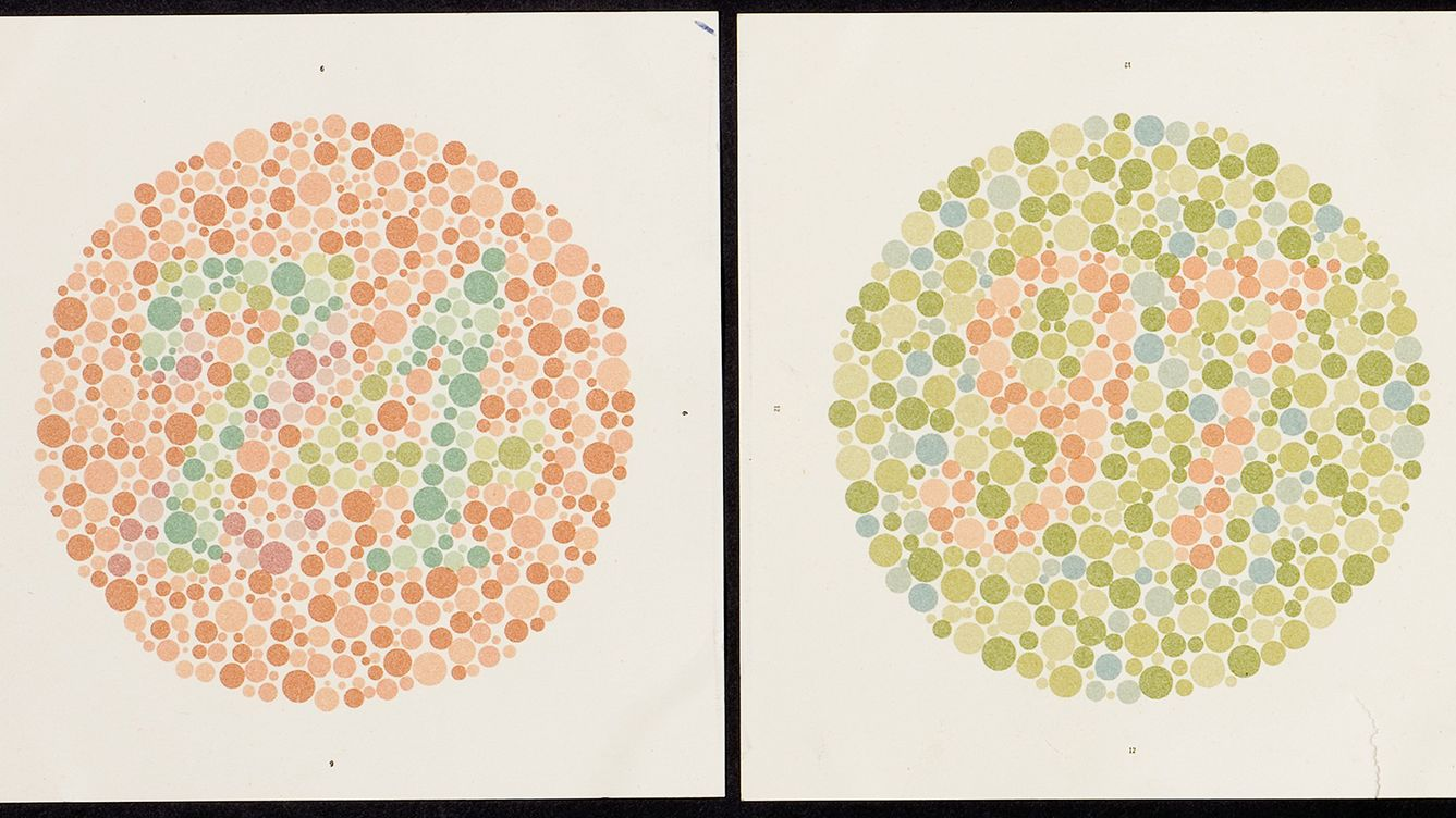 Eye doctors still use this 100 year old test for color blindness