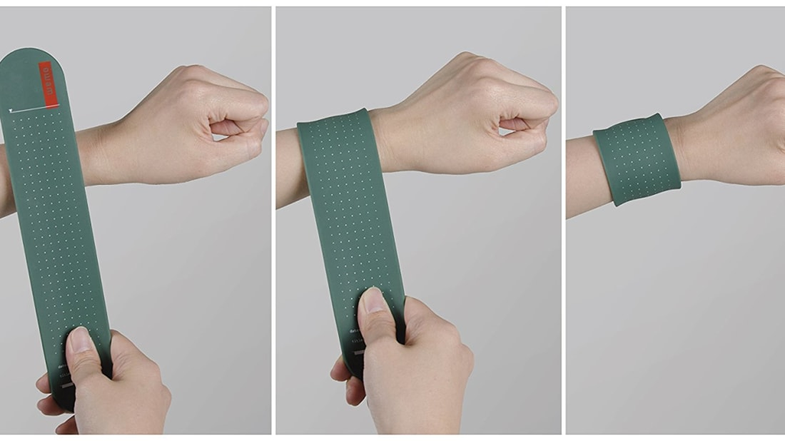 Slap Bracelet Notepad Hybrid Is The Perfect Tool For