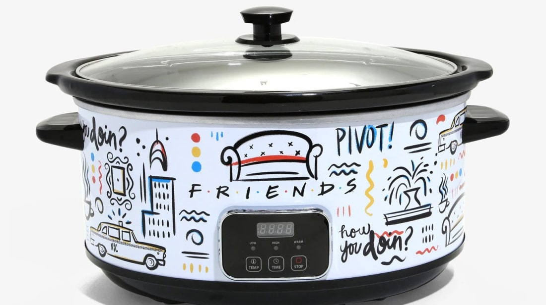 Channel Your Inner Chef Monica Geller With This Friends-Themed Slow Cooker